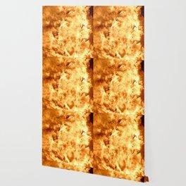 Gold Nebula Wallpaper