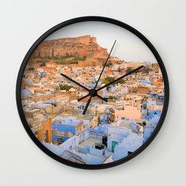 The Blue City of Jodhpur, India Wall Clock
