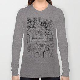 Ghost Lantern Long Sleeve T-shirt