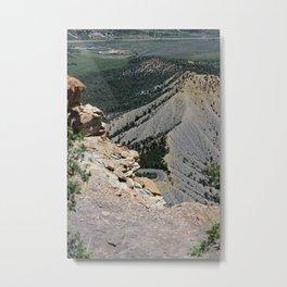 View from top of Mesa Verde Metal Print