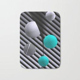 go turquoise -7- Bath Mat