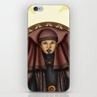 jedi iPhone & iPod Skins featuring Luminara Jedi by Miguel Angel Carroza