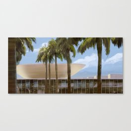 Brasilia Canvas Print