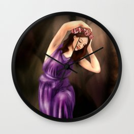 The Water Nymph Wall Clock