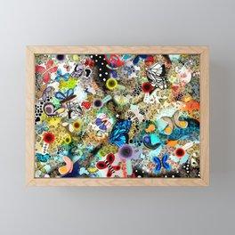 Butterfly leopard paradise Butterflies Framed Mini Art Print