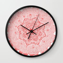 Mandala-1-2 Wall Clock