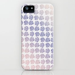 Roses pattern V iPhone Case