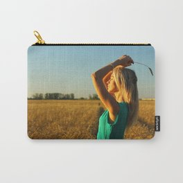 girl on the field Carry-All Pouch