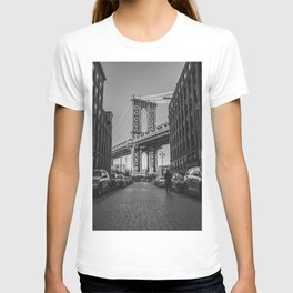 New York City Bridge (Black and White) T-shirt