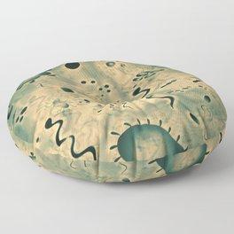 Microscopic Microbes Floor Pillow