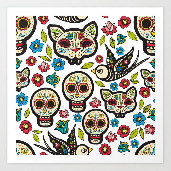 Amazing Day Of The Dead Art