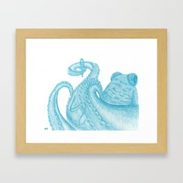 octo Framed Art Print