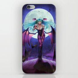 Morrigan from Darkstalker iPhone Skin