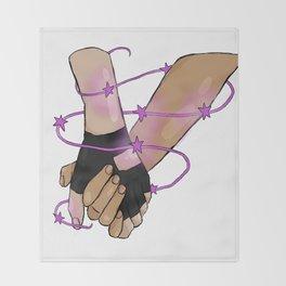 klance hands Throw Blanket