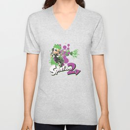 Splatoon 2 Purple - Inkling Boy Unisex V-Neck