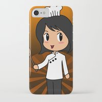 chef iPhone & iPod Cases featuring Chef by Flying Cat Artwork