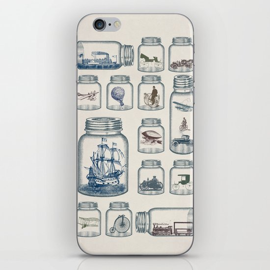 Vintage Preservation iPhone & iPod Skin