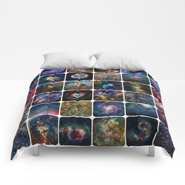 The Amazing Universe - Collection of Satellite Imagery Comforters