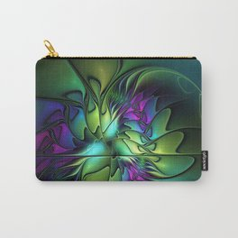 Colorful And Abstract Fractal Fantasy Carry-All Pouch