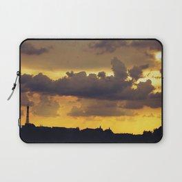 Sunset over Paris Laptop Sleeve