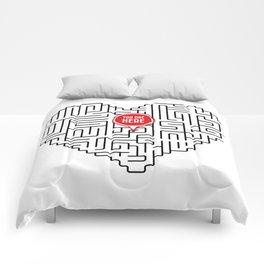 Finding Love II Comforters