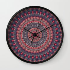 Mandala 417 Wall Clock