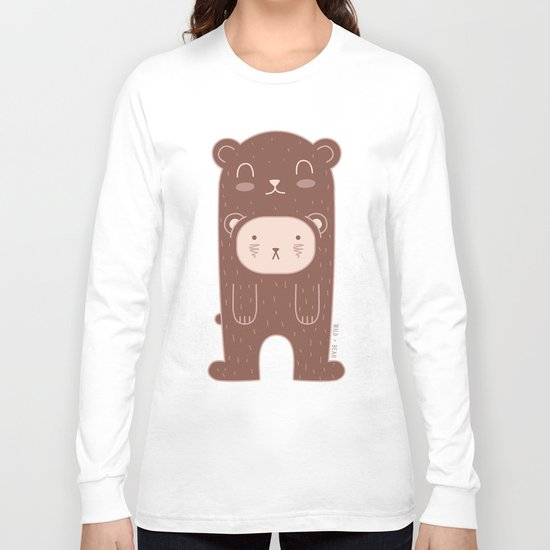 WILD + BEAR print Long Sleeve T-shirt