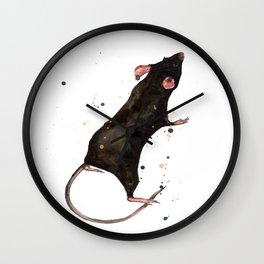 Velveteen Rat Wall Clock