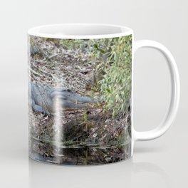 Alligator Blending In Coffee Mug