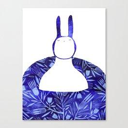 BlueBun Canvas Print