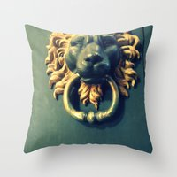 narnia Throw Pillows featuring Even if there isn't any Narnia. by Nicole Nutter