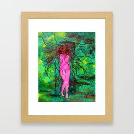 Second Life Framed Art Print