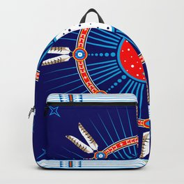 Crazy Horse Dreaming Backpack