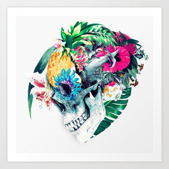 Skull ST Art Print
