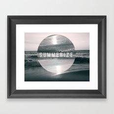 Summer Eyes Framed Art Print