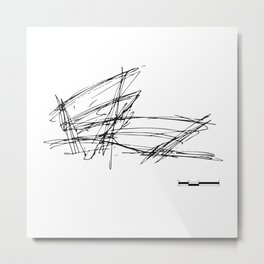 Gehry Doesn't Sketch to Scale Metal Print