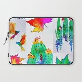 Watercolor Garden Laptop Sleeve