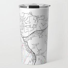 PARK CITY MAP PRINT Travel Mug