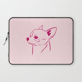 Chihuahua (Pink and Berry) Laptop Sleeve