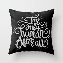 Typo After All Throw Pillow