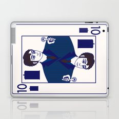 Ten of Tardis Laptop & iPad Skin