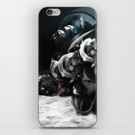 In the voiceless Night iPhone Skin