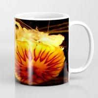 jelly fish Mugs featuring Jelly Fish by John Mark