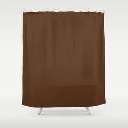 Stairway to Serenity ~ Pine Cone Brown Shower Curtain