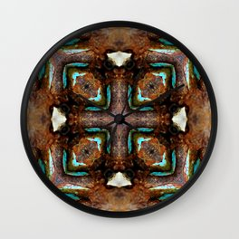 Shipwreck Of Time Wall Clock
