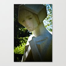 Scarred Angel Canvas Print