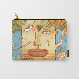 Weird tree Carry-All Pouch