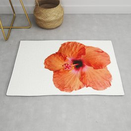 Just the Hibiscus Rug