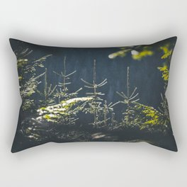 Spruce tops in Slovakia Rectangular Pillow