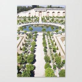 The Orangerie at Versailles Canvas Print